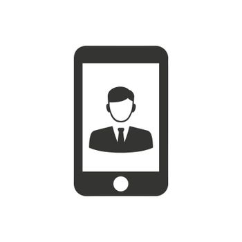 Mobile Business Icon