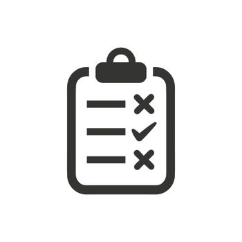 Checklist icon. Meticulously designed vector EPS file.