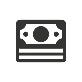 Money icon. Meticulously designed vector EPS file.