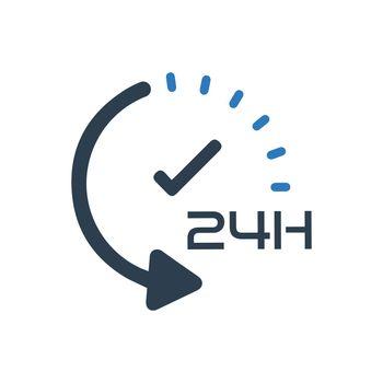 24hour Service Icon