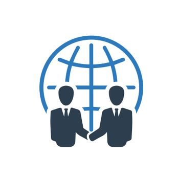 Business Partnership icon. Meticulously designed vector EPS file.