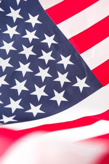 American flag. Flag of the united states of America. July 4th Independence Day. USA patriotism national holiday. Usa proud.