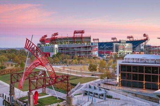 LP Field stadium in Nashville