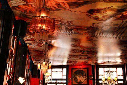 Beautiful Vintage cafe in Lisbon