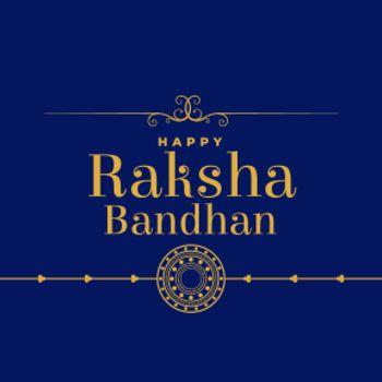 flat raksha bandhan festival background