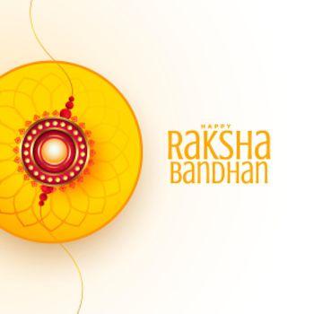 raksha bandhan wishes card beautiful design