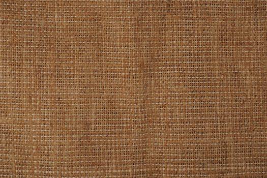 Sackcloth textile background