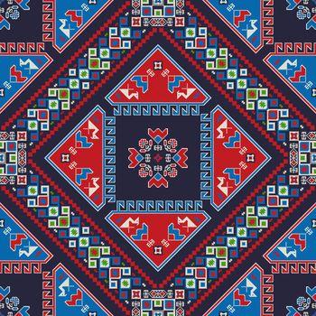 Georgian embroidery pattern 12