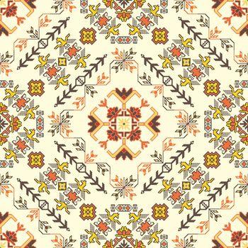 Georgian embroidery pattern 18