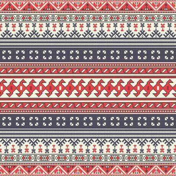 Georgian embroidery pattern 5