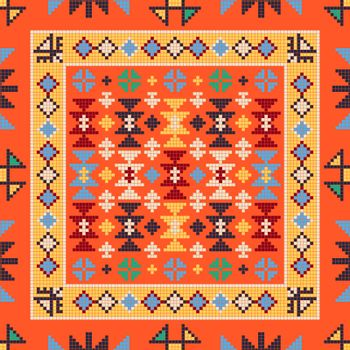 Georgian embroidery pattern 17