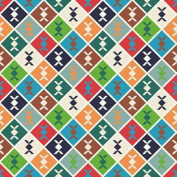 Georgian embroidery pattern 7