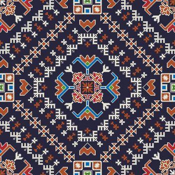 Georgian embroidery pattern 13