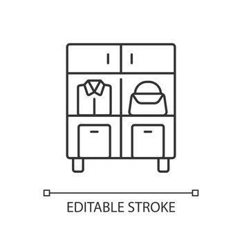 Home organization linear icon
