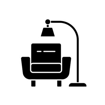 Minimalism black glyph icon