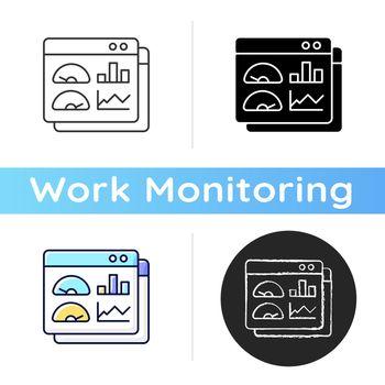 Productivity dashboard icon