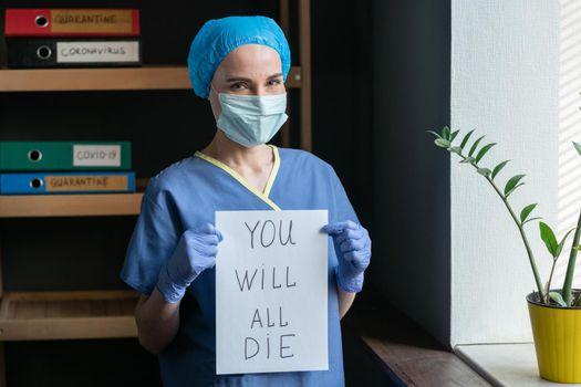 Sarcastic Medic Shows Bad Prediction