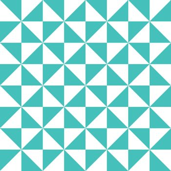 Simple triangle geometry pattern