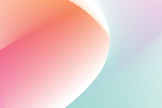 Aesthetic pastel gradient abstract background vector