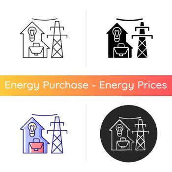 Electric utility icon