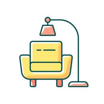 Minimalism RGB color icon