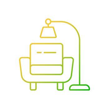 Minimalism gradient linear vector icon