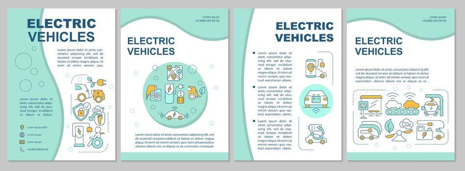 EV base propositions brochure template.