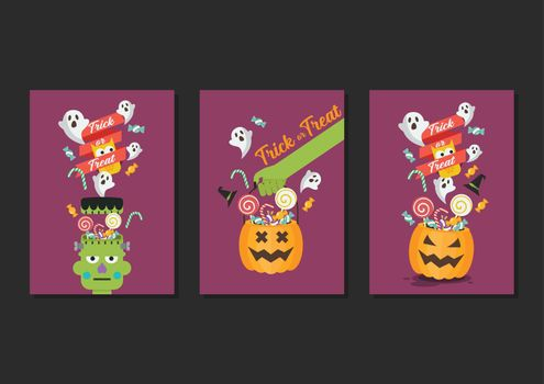 Halloween Trick or Treat Poster Collection