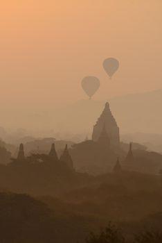 balloon in bagan
