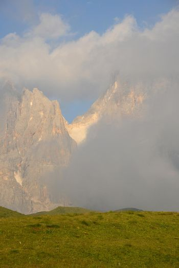 Dolomite mountain in Italy