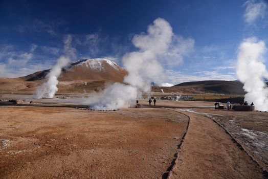 geyser in chile