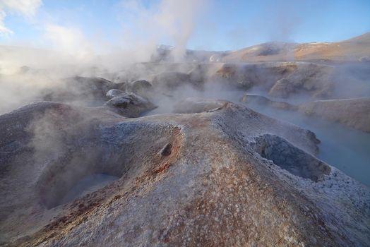 geyser in bolivia
