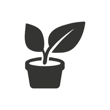 Plantation icon. Meticulously designed vector EPS file.
