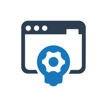 """Meticulously Designed """"Website Development icon. Meticulously designed vector EPS file."""""""