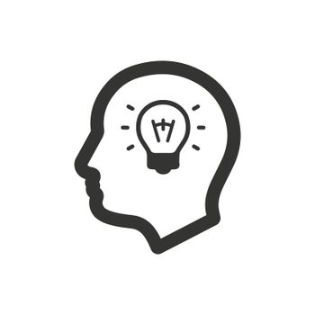 Intelligent icon. Meticulously designed vector EPS file.
