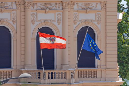 Austria Embassy Flag