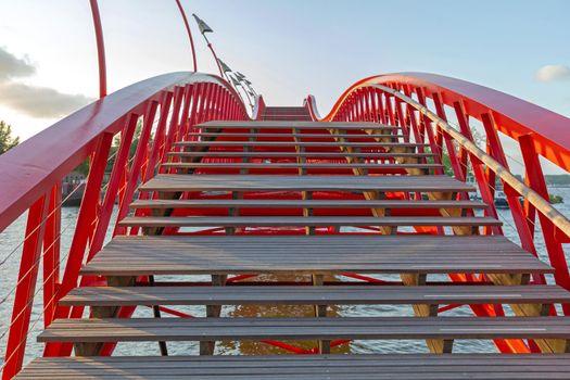 Python Bridge Stairs