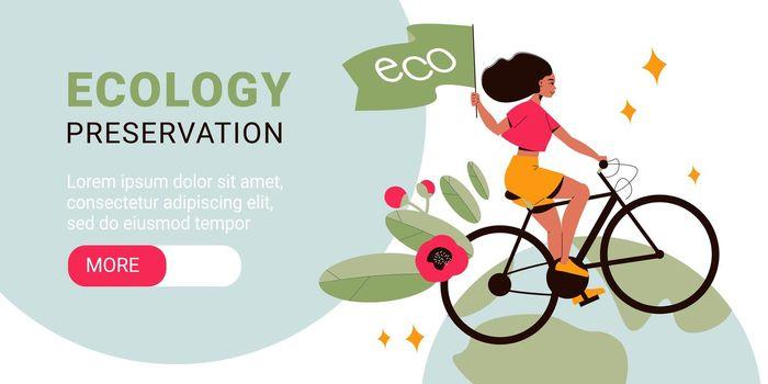 Ecology Horizontal Banner