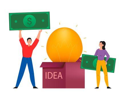 Idea For Money Composition