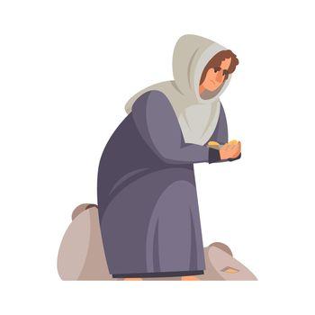 Caroon Medieval Woman