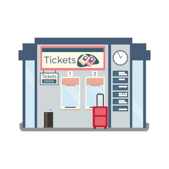Ticket Office Illustration