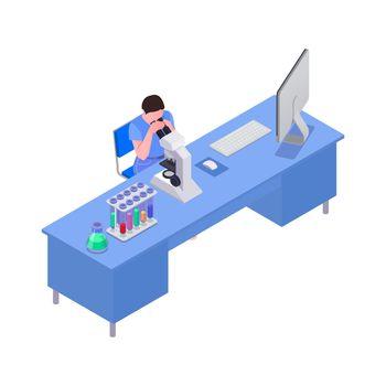 Isometric Science Laboratory