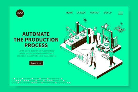 Smart Industry Isometric Website