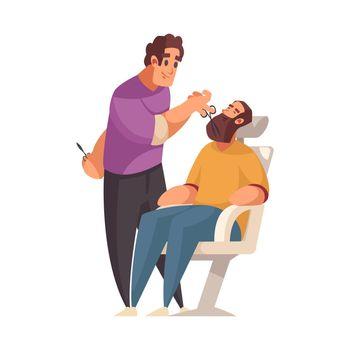 Barber Flat Illustration