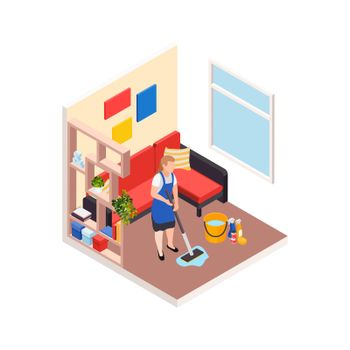 Cleaning Up Apartment Composition