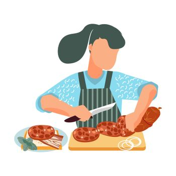 Sausages Flat Icon