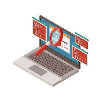 Digital Crime Icon