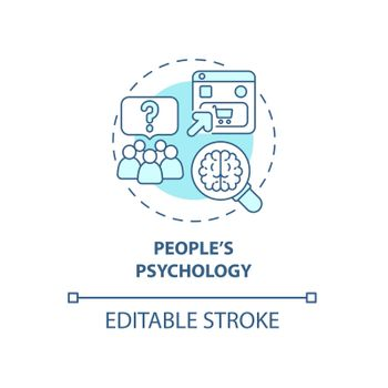 People psychology concept icon