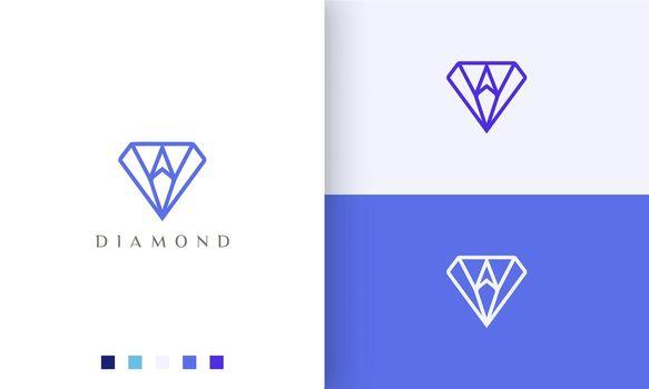 diamond compass logo in simple dan modern style