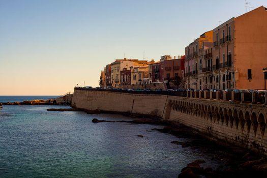 Coast of Ortigia
